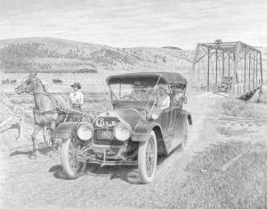 Cole crossing Garrison Bridge 16 x 21